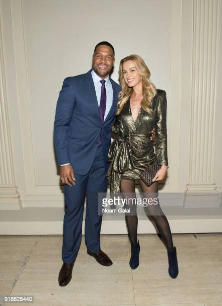 Michael Strahan and Petra Nemcova attend the All Hands and Hearts Smart Response Third Annual Fight For Education at Cipriani Wall Street on February...