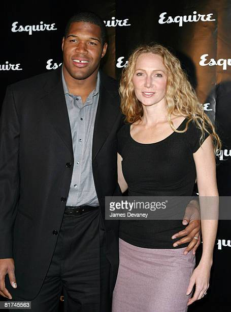 Michael Strahan and wife Jean