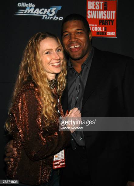 Michael Strahan and wife Jean Strahan