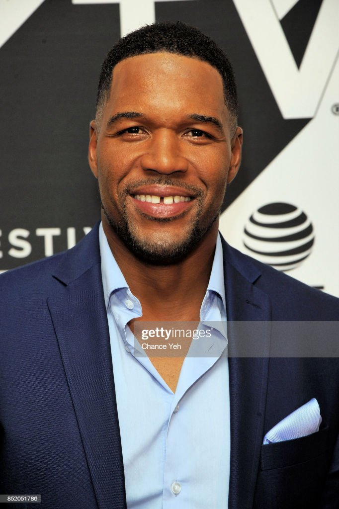 Michael Strahan attends 'Religion Of Sports' premiere during Tribeca TV Festival at Cinepolis Chelsea on September 22, 2017 in New York City.
