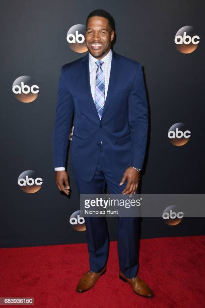 Michael Strahan attends the 2017 ABC Upfront on May 16 2017 in New York City