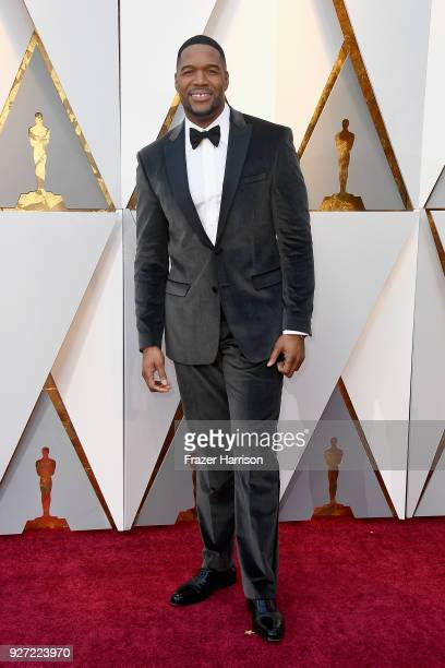 Michael Strahan attends the 90th Annual Academy Awards at Hollywood Highland Center on March 4 2018 in Hollywood California