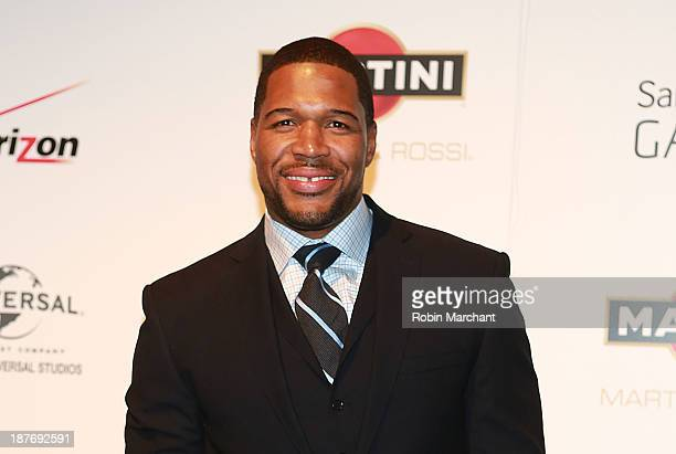 Michael Strahan attends The Best Man Holiday screening at Chelsea Bow Tie Cinemas on November 11 2013 in New York City