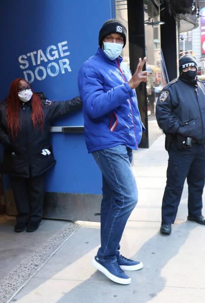 NY: Celebrity Sightings In New York City - April 22, 2021