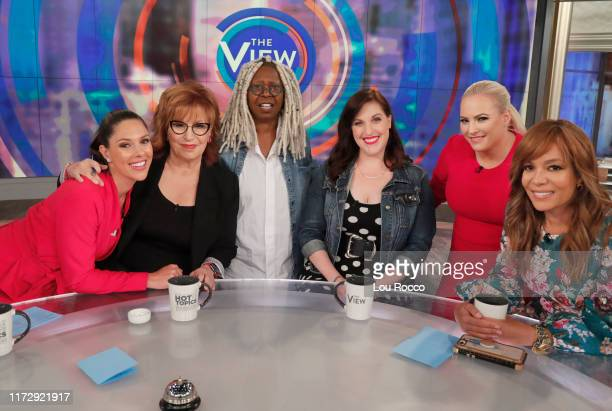 Michael Strahan Sara Haines and Keke Palmer and Allison Tolman are the guests today on ABC The View The View airs MondayFriday 11am12 noon ET on ABC...