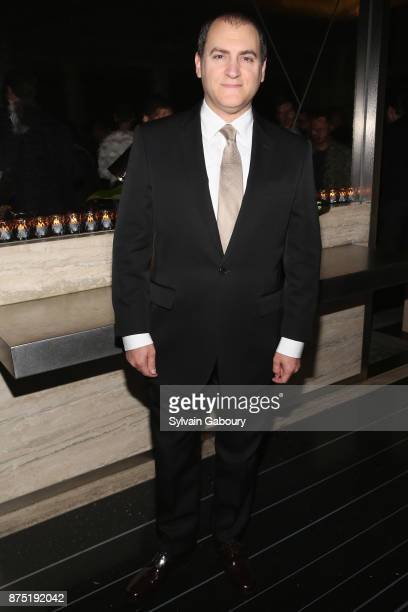 Michael Stuhlbarg attends Calvin Klein and The Cinema Society host the after party for Sony Pictures Classics' 'Call Me By Your Name' on November 16...