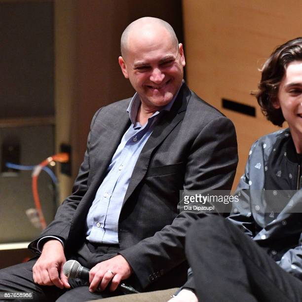 Michael Stuhlbarg attends NYFF Live Making Call Me by Your Name during the 55th New York Film Festival at Elinor Bunin Munroe Film Center on October...