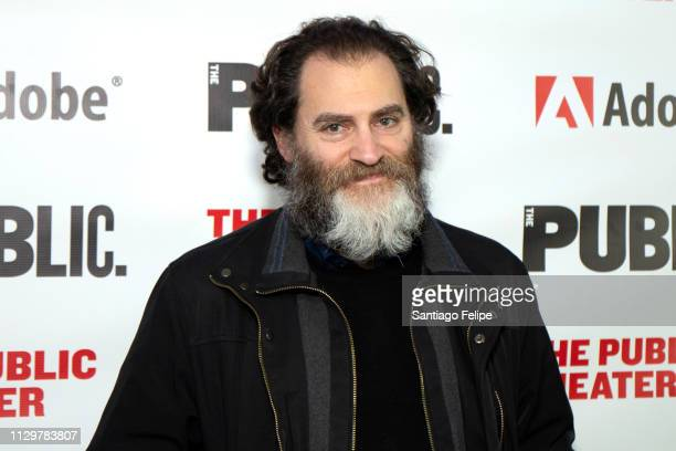 Michael Stuhlbarg attends 'Sea Wall / A Life' opening night at The Public Theater on February 14 2019 in New York City