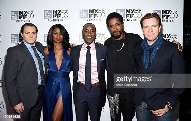 Michael Stuhlbarg Emayatzy Corinealdi Don Cheadle Keith Stanfield and Ewan McGregor attend 53rd New York Film Festival Closing Night Gala Screening...