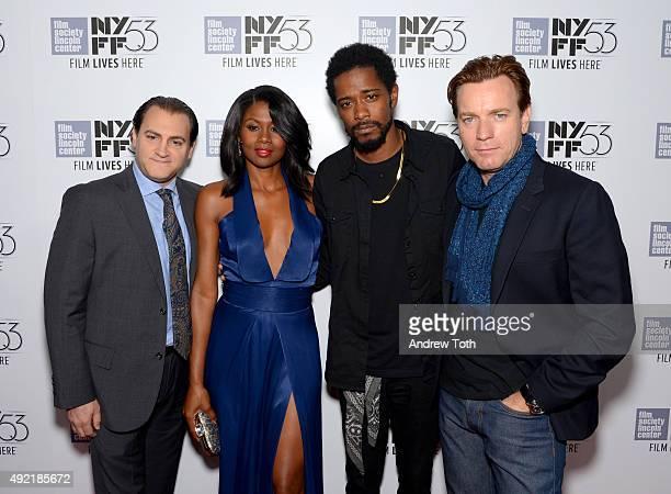 Michael Stuhlbarg Emayatzy Corinealdi Keith Stanfield and Ewan McGregor attend 53rd New York Film Festival closing night gala screening of Miles...