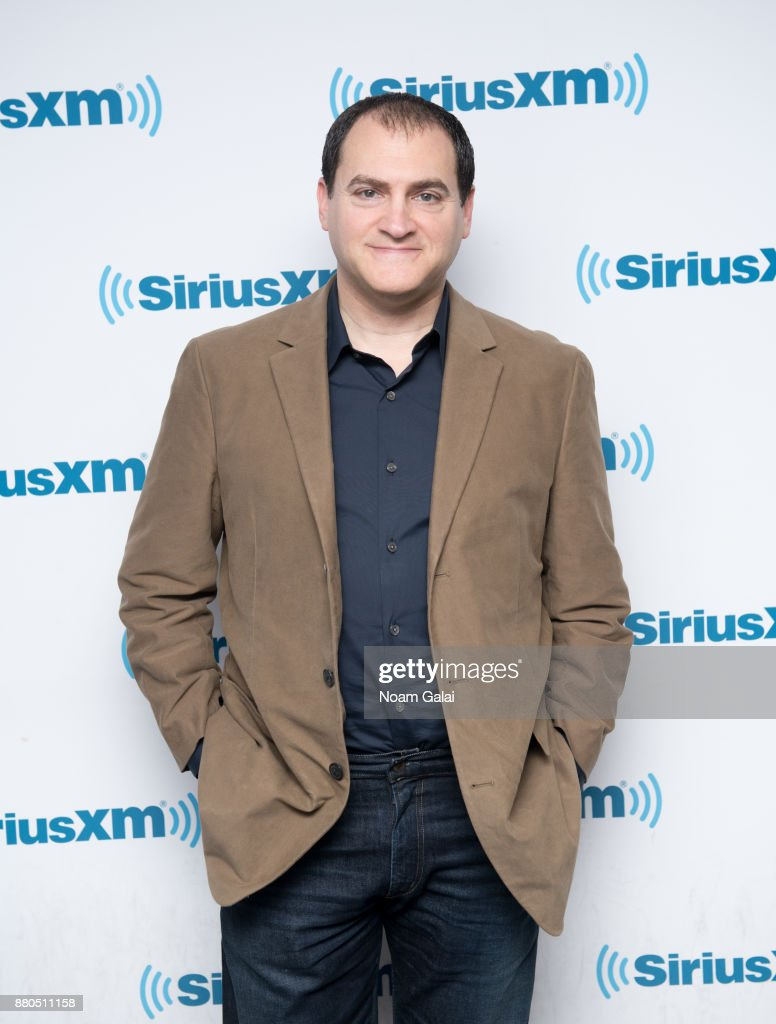 Michael Stuhlbarg visits the SiriusXM Studios on November 27, 2017 in New York City.