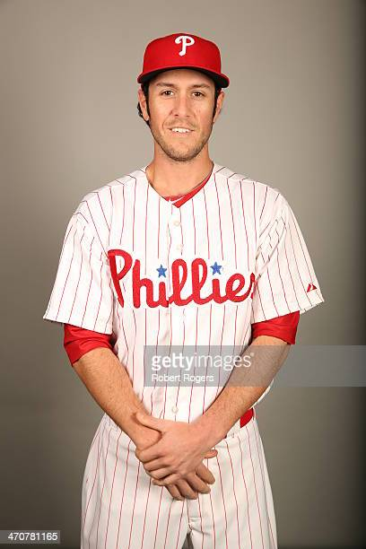 Michael Stutes of the Philadelphia Phillies poses during Photo Day on Wednesday February 19 2014 at Bright House Field in Clearwater Florida