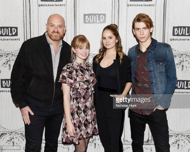 Michael Sucsy Angourie Rice Debbie Ryan and Owen Teague attend Build Series to discuss 'Every Day' at Build Studio on February 21 2018 in New York...
