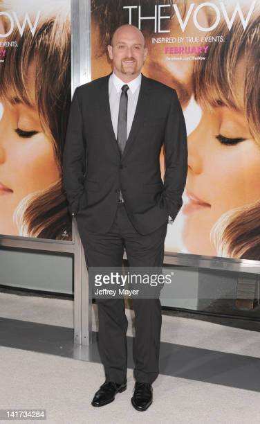 """Michael Sucsy arrives at """"The Vow"""" Los Angeles Premiere at Grauman's Chinese Theatre on February 6, 2012 in Hollywood, California."""