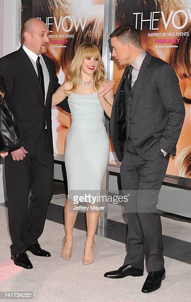 Michael Sucsy Rachel McAdams and Channing Tatum arrive at The Vow Los Angeles Premiere at Grauman's Chinese Theatre on February 6 2012 in Hollywood...
