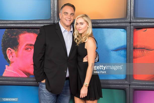 Michael Sugar and Lauren Sugar attend the 'Maniac' season 1 New York premiere at Center 415 on September 20 2018 in New York City