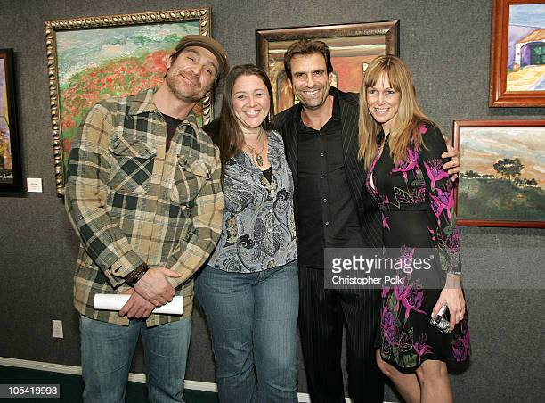 Michael T. Weise, Camryn Manheim, Jerry Penacoli and Jen Andrews