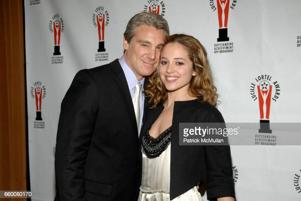 Michael T Weiss and Margarita Levieva attend 2009 LUCILLE LORTEL AWARDS at The Marriot Marquis on May 3 2009 in New York City