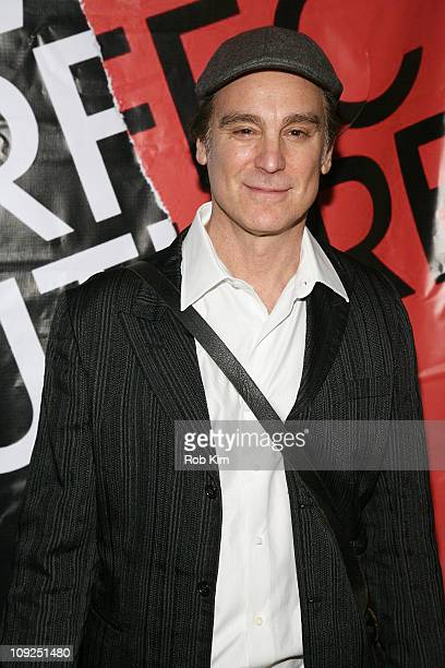 Michael T Weiss attends the A Perfect Future opening night party at City Winery on February 17 2011 in New York City
