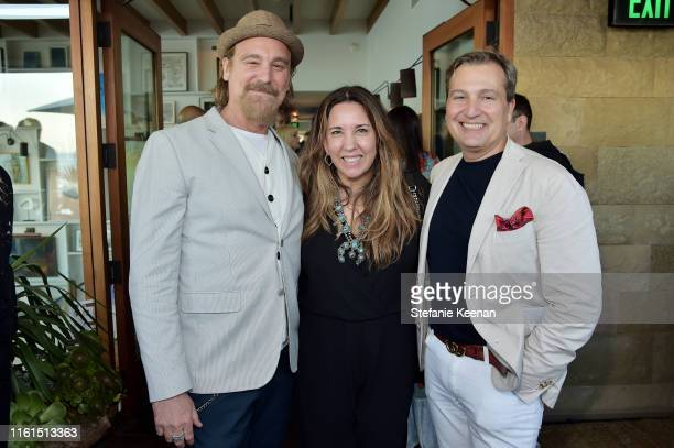 Michael T Weiss guest and Anthony Cenname attend Breguet Marine Collection Launch at Little Beach House Malibu on July 11 2019 in Malibu California