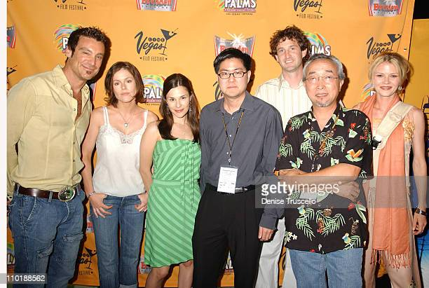 Michael T Weiss Kathleen Robertson Sarah Lassez Gregory Hatanaka Trevor Groth Taka Anai and Missy Crider