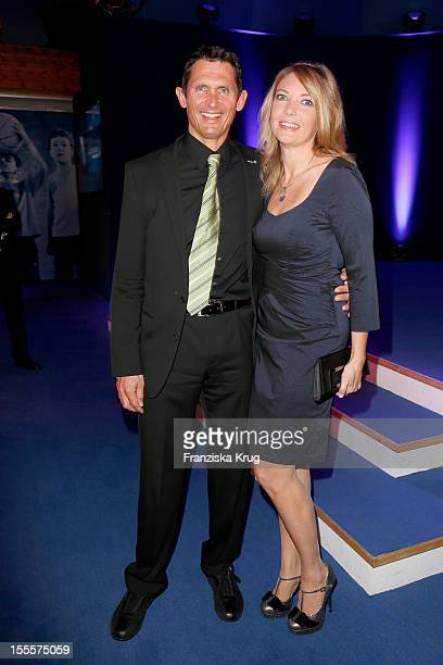 Michael Teuber and his wife Susanne Teuber attend the Laureus Media Award 2012 on November 05, 2012 in Kitzbuehel, Austria.
