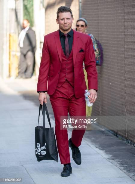 "Michael ""The Miz"" Mizanin is seen at ""Jimmy Kimmel Live"" on August 07, 2019 in Los Angeles, California."