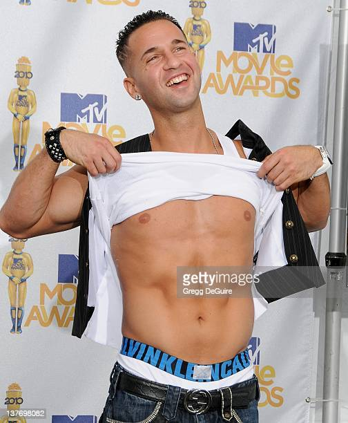 Michael 'The Situation' Sorrentino in the press room at the 2010 MTV Movie Awards at the Gibson Amphitheatre on June 6 2010 in Universal City...