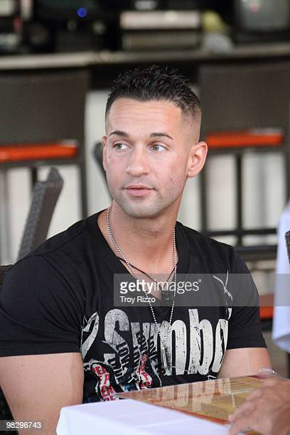 Michael 'The Situation' Sorrentino is seen in South Beach on April 6 2010 in Miami Beach Florida