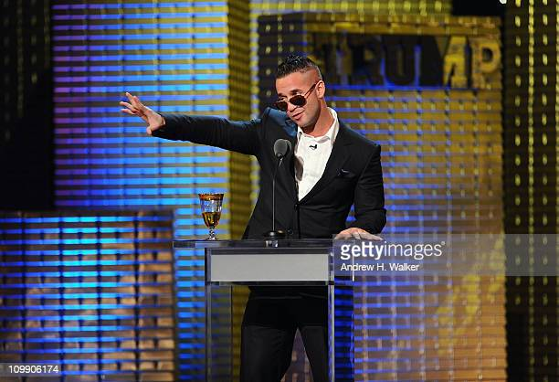 Michael 'The Situation' Sorrentino performs onstage at the Comedy Central Roast Of Donald Trump at the Hammerstein Ballroom on March 9, 2011 in New...