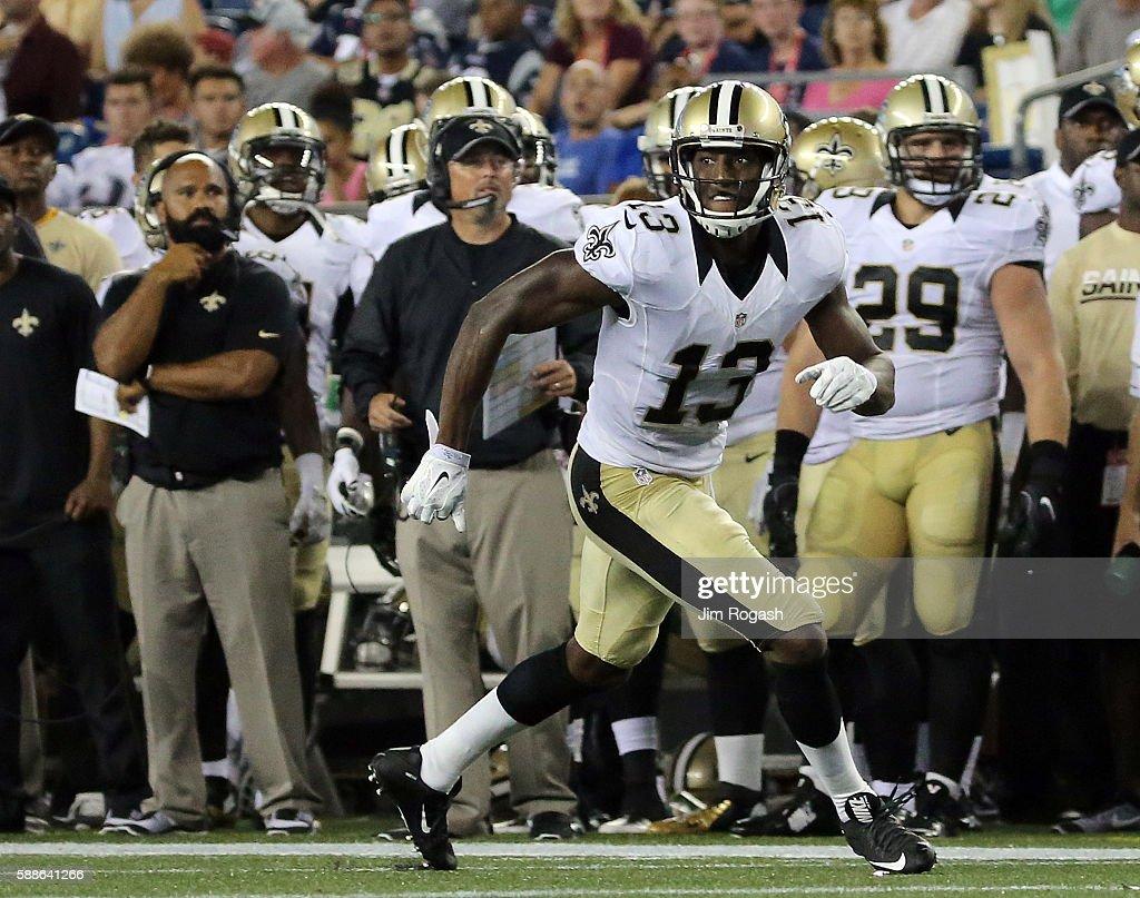 New Orleans Saints v New England Patriots : News Photo