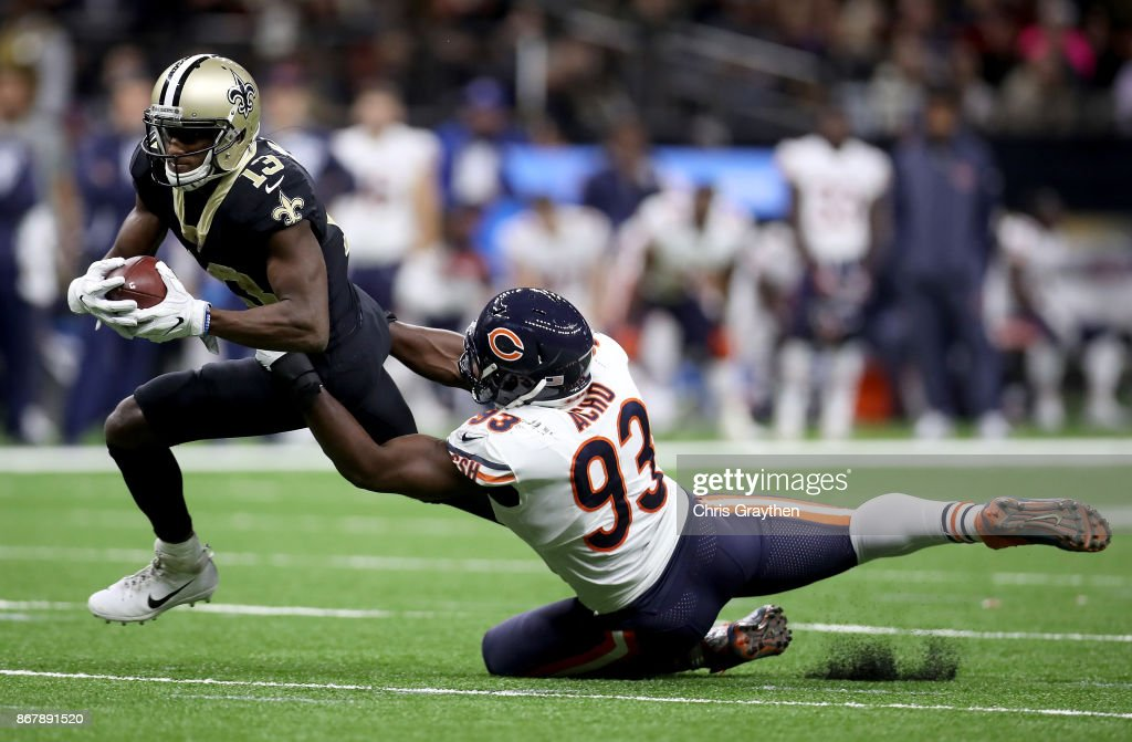 Chicago Bears vs New Orleans Saints : News Photo