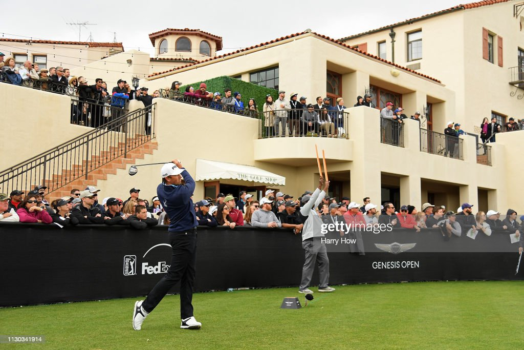 Genesis Open - Final Round : News Photo