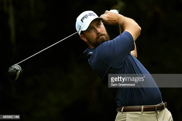 Michael Thompson plays a shot off the 11th tee during the first round of the Valspar Championship at Innisbrook Resort Copperhead Course on March 12...
