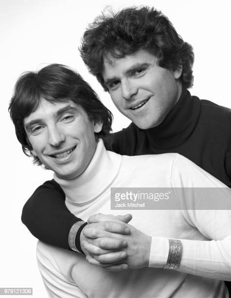 Michael Tilson Thomas and Johsua Robeson photographed in 1979, partners since 1976 they were married in 2014.