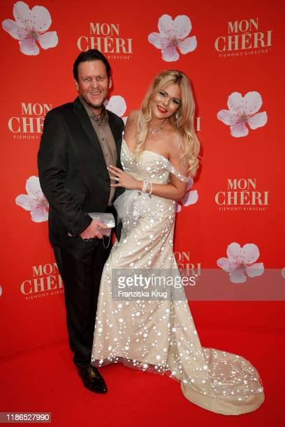 Michael Tomaschautzki and Diana Herold during the Mon Cheri Barbara Tag at Isarpost on December 4 2019 in Munich Germany