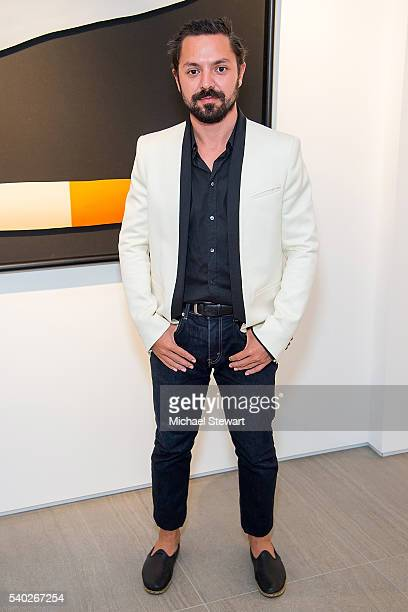 Michael Tommasiello attends the JetSmarter and Opera Gallery VIP party at Opera Gallery on June 14 2016 in New York City