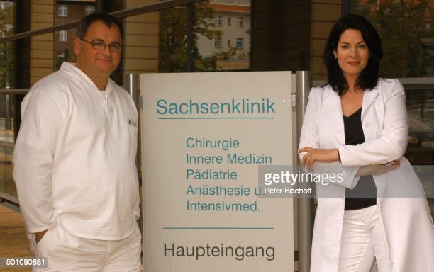 Michael Trischan Cheryl Shepard ARDSerie In Aller Freundschaft vom MDR Special Was wirklich zählt Media City Leipzig Sachsen Deutschland Europa...