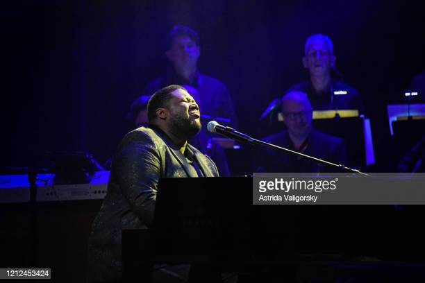 Michael Trotter Jr of The War and Treaty performs onstage during the Fourth Annual LOVE ROCKS NYC Benefit Concert For God's Love We Deliver at Beacon...
