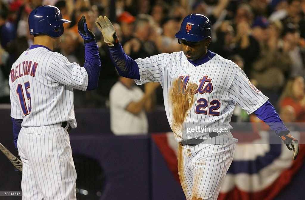 NLCS Game 6: St. Louis Cardinals v New York Mets : News Photo
