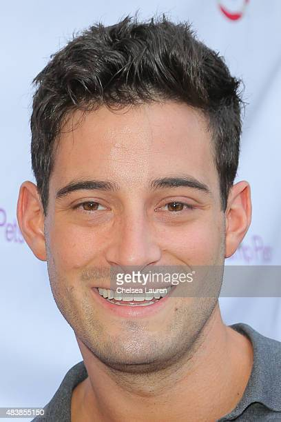 Michael Turchin arrives at a luncheon hosted by Lisa Vanderpump benefiting The American Humane Association and the Hero Dog Awards at Pump on August...