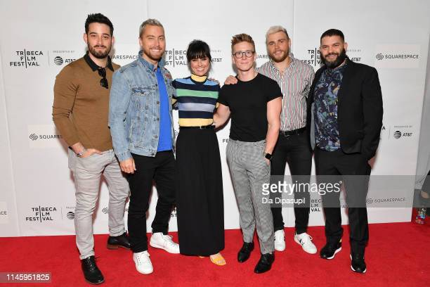 Michael Turchin Lance Bass Constance Zimmer Tyler Oakley Gus Kenworthy and Guillermo Díaz attend the Gay Chorus Deep South screening during the 2019...