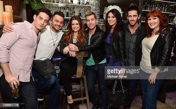 Michael Turchin, professional baseball player Nick Swisher, actress JoAnna Garcia Swisher, singer Lance Bass, actress Nadia Bjorlin, actor Brandon...