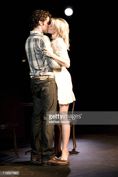 Michael Urie and Amy Smart during Burning Desire a Staged Reading Written by Lou Diamond Phillips and Directed by Wendie Malick June 18 2007 at The...