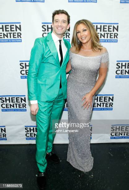 Michael Urie and Vanessa Williams attend Sheen Center presents Vanessa Williams Friends thankful for Christmas with guests Norm Lewis Michael Urie...
