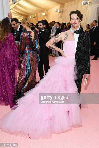 Michael Urie attend The 2019 Met Gala Celebrating Camp Notes on Fashion at Metropolitan Museum of Art on May 06 2019 in New York City