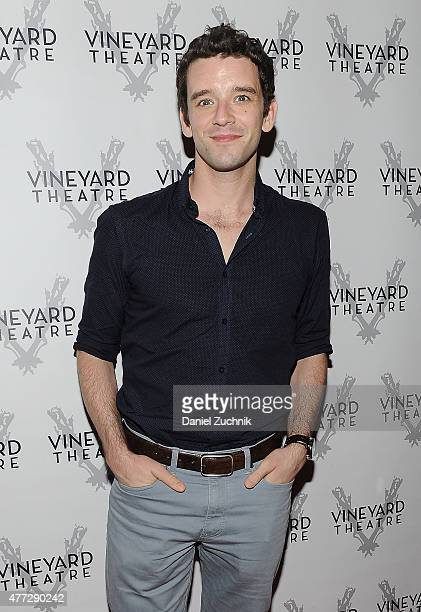 Michael Urie attends 'Gloria' Opening Night at The Vinyard Theater on June 15 2015 in New York City