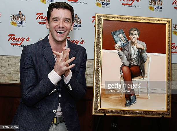 Michael Urie attends his portrait unveiling and birthday party at Tony's di Napoli on August 7 2013 in New York City
