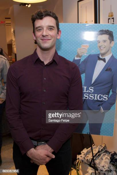 Michael Urie attends Logo's 'Cocktails Classics' Cocktail Soiree at Bo Concept on April 5 2017 in New York City