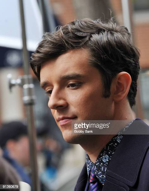 Michael Urie on location for 'Ugly Betty' on the streets of Manhattan on September 29 2009 in New York City